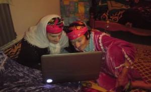 jeunes filles algeriennes sur internet